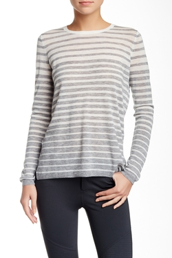 Vince - Stripe Crew Neck Sweater