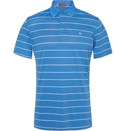Peter Millar   - Potter Striped Stretch-Piqué Polo Shirt