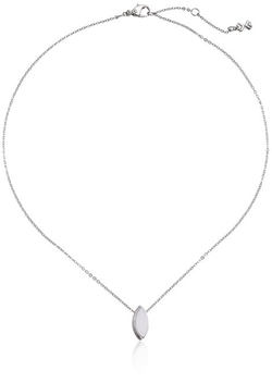 Skagen  - Glass Stone Pendant Necklace