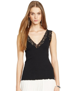 Polo Ralph Lauren - Lace-Trim Camisole