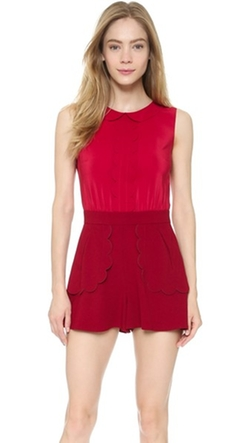 RED Valentino - Collared Romper