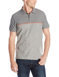 Calvin Klein - Engineered Striped Polo Shirt