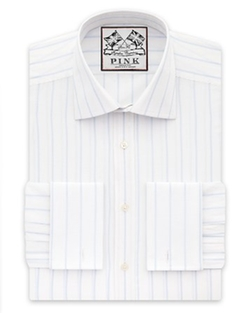 Thomas Pink  - Alford Stripe Dress Shirt