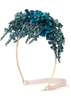 Gigi Burris  - Hyacinth Branch Velvet Headband