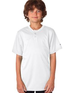 Badger  - Sport Youth B-Dry Core Henley T-Shirt