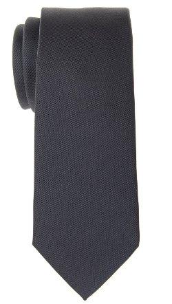 Retreez - Solid Matte Woven Skinny Tie