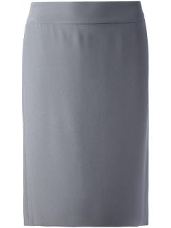 Armani Collezioni  - High Waisted Skirt