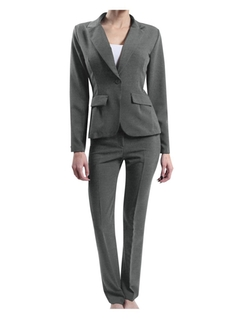 Le3no - Fitted Blazer And Pants Suit