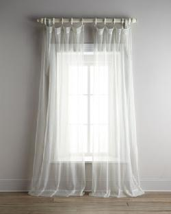 "HORCHOW - ""Lagoon"" Sheer Curtains"