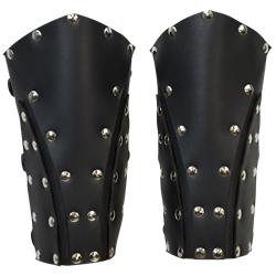 Dark Knight Armoury - Dark Rogue Leather Bracers