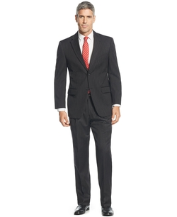 Jones New York - Classic-Fit Pinstriped Suit