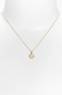Nadri  - Framed Round Cubic Zirconia Necklace