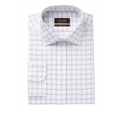 Tasso Elba - Double Windowpane Dress Shirt