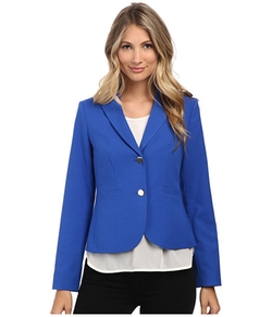 Calvin Klein - Solid Two Button Jacket