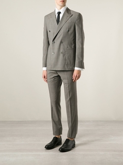 Boglioli   - Prince Of Wales Check Suit