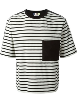 MSGM - Striped T-Shirt