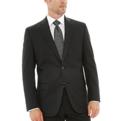 Van Heusen - Striped Black Suit Jacket