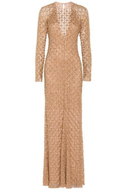 Temperley London  - Long Amaryllis Gown