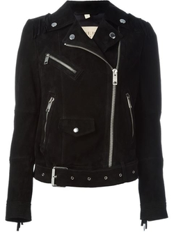 Burberry Brit - Fringed Biker Jacket