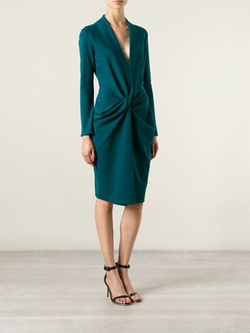 Lanvin - Ruched Dress