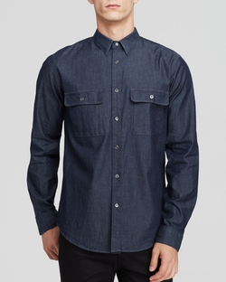 Theory - Barham C Turini Button Down Shirt