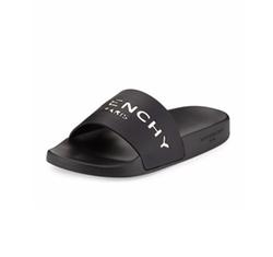 Givenchy - Logo Rubber Slide Sandals