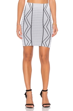 BCBGeneration - Geometric Mini Skirt