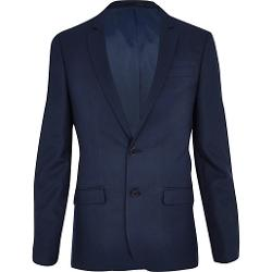River Island - Blue Skinny Suit Jacket