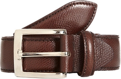 Battistoni  - Grained Leather Belt