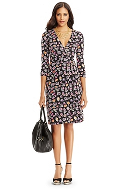 DVF - Julian Two Silk Jersey Wrap Dress