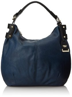 Poverty Flats - Faux Leather Hobo Bag