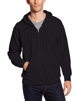 Hanes - Full-Zip Eco Smart Fleece Hoodie
