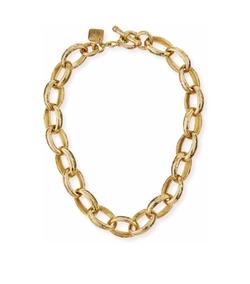 Ashley Pittman - Kijami Bronze Link Necklace