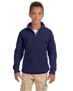 Jerzees  - Quarter-Zip Cadet Collar Sweatshirt