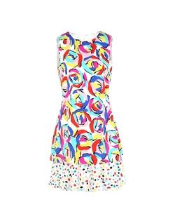 Moschino - Printed Short Dress
