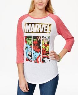Freeze 24-7 - Marvel Graphic Baseball T-Shirt