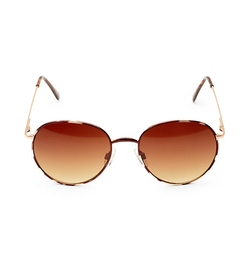 Steve Madden - Oval Gradient Sunglasses