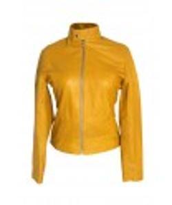 Desert Leatehr - Megan Fox Teenage Mutant Ninja Turtles Yellow Leather Jacket
