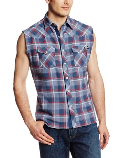 Dickies - Sleeveless Western Shirt