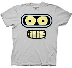 Ripple Junction  - Futurama: Bender Face Tee - Unisex