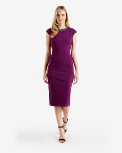 Ted Baker - Embellished MIdi Dress