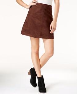Sanctuary - Faux-Suede Mod Mini Skirt