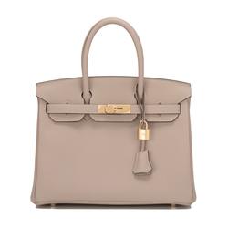 Hermès Boutique - Gris Tourterelle Togo Birkin Bag