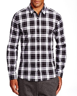 Hugo - Ero3 Large Plaid Slim Fit Button Down Shirt