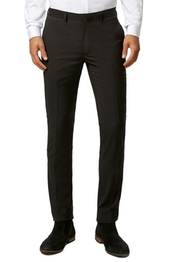 Topman  - Ultra Skinny Black Suit Trousers