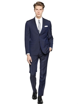 Z Zegna  - Wool & Mohair Blend Suit