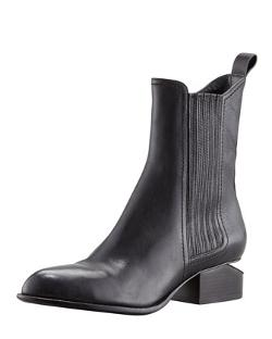 Alexander Wang - Anouck Lift-Heel Chelsea Boot, Nickel