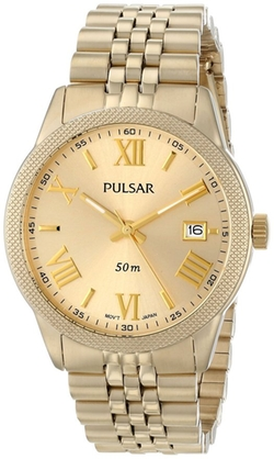 Pulsar - Japanese Quartz Gold Watch