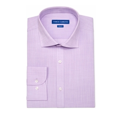 Vince Camuto - Slim-Fit Slub Dress Shirt