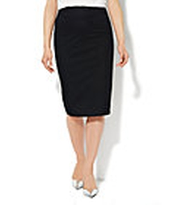 New York & Co. - 7th Avenue Design Studio - Scuba Pencil Midi Skirt